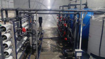 Azerbaycan Sera Sulama Suyu Arıtma Sistemi Kurulumları Tamamlandı